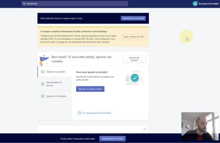 Tuto Shopify Analytics
